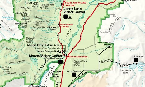 Visit the Menors Ferry Historic District in Grand Teton National Park